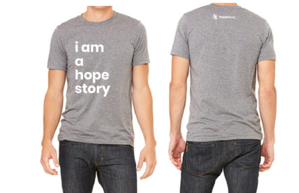 I am a hope story t shirt