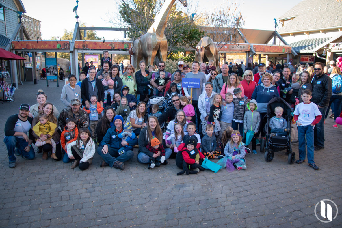 Children with Down syndrome at the Denver zoo for first Hope Gathering