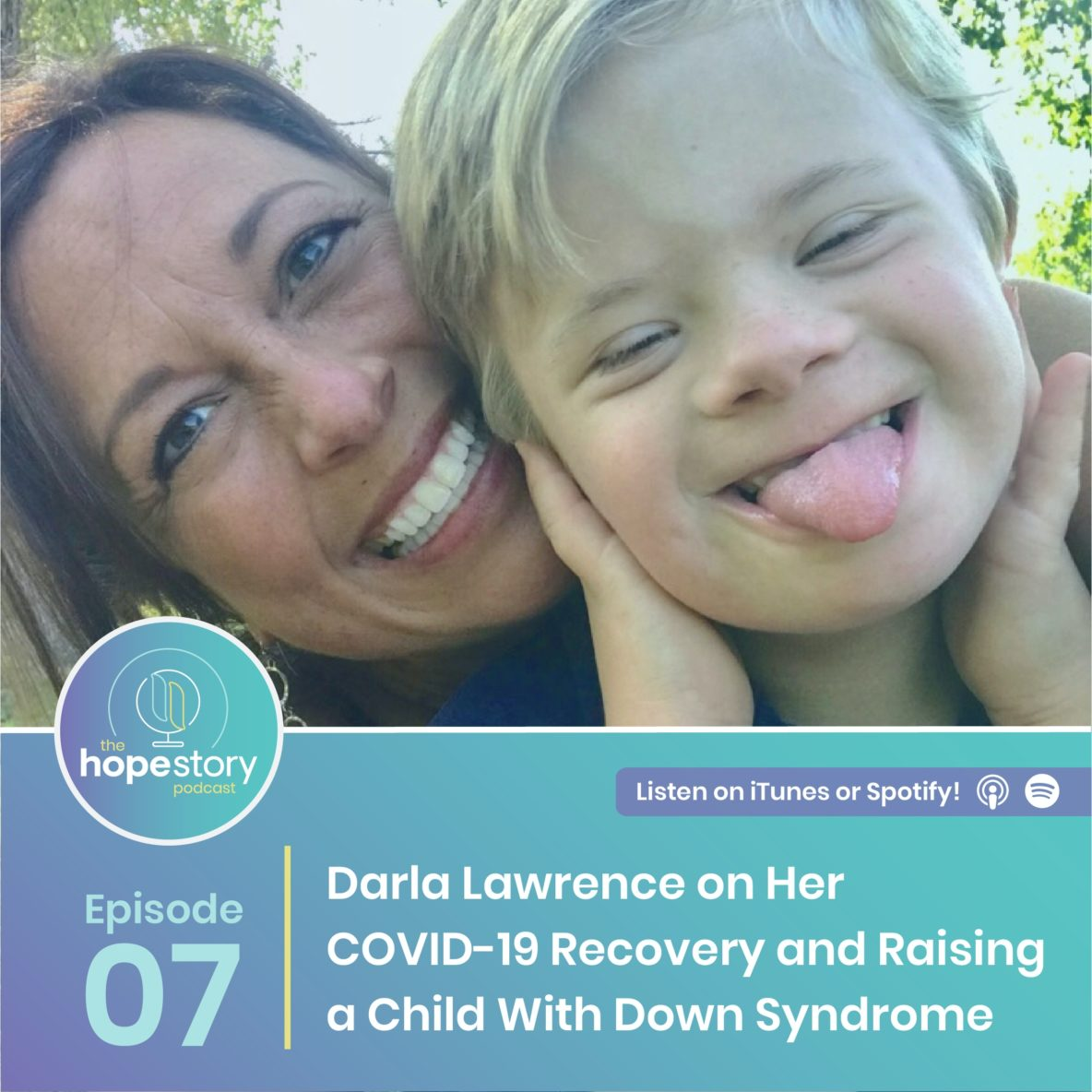 covid 19 recovery story family down syndrome