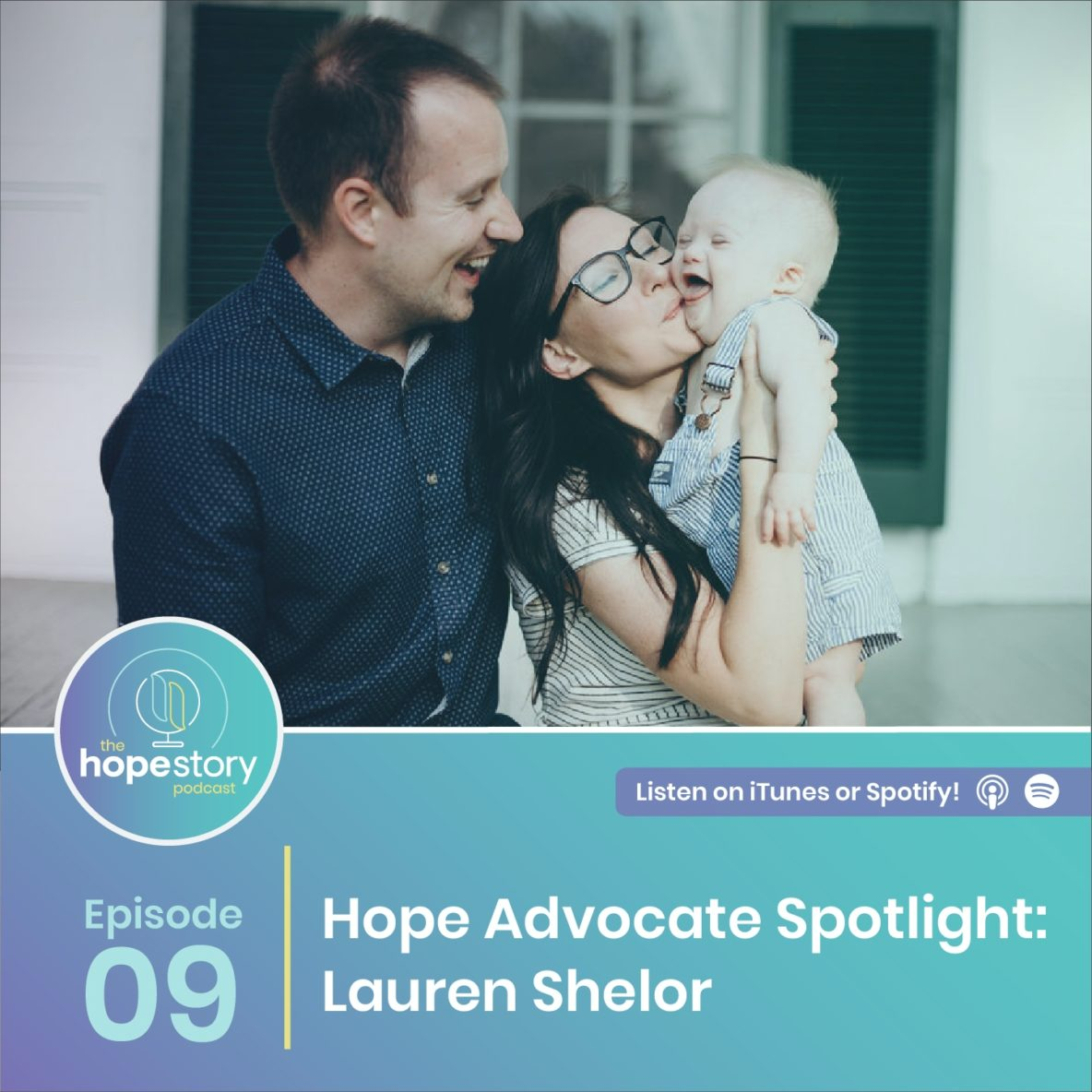 Lauren shelor hope story podcast down syndrome