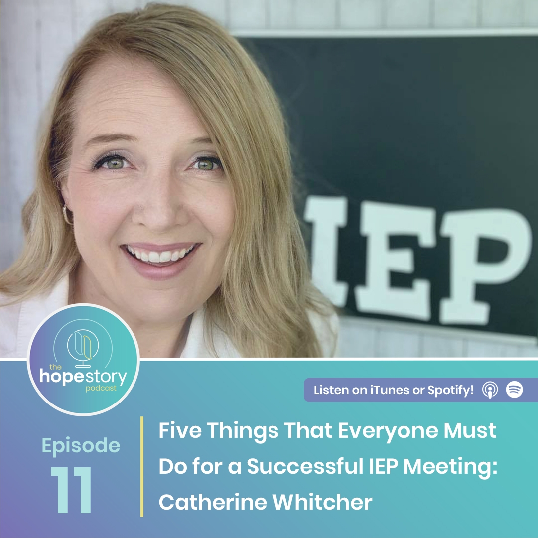 hope story podcast iep tips Catherine whitcher